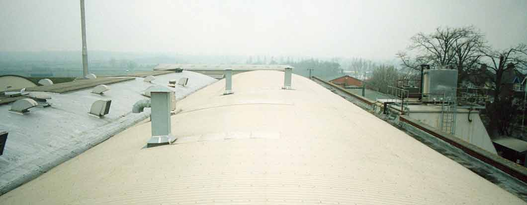 metal sheeting roof