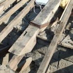 Original timber truss detail