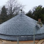 Competed natural slate roof 2