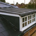 Slate & lead roof Bath